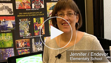 Arts Attack Testimonial Jennifer