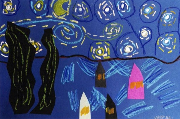 Grade K Starry Night